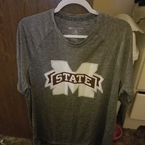 Holloway Mississippi State Men's Gray T-shirt XL
